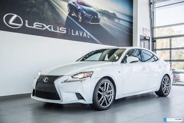 Lexus IS 250 F-SPORT 3- GPS-  UN SEUL PROPRIO 2014