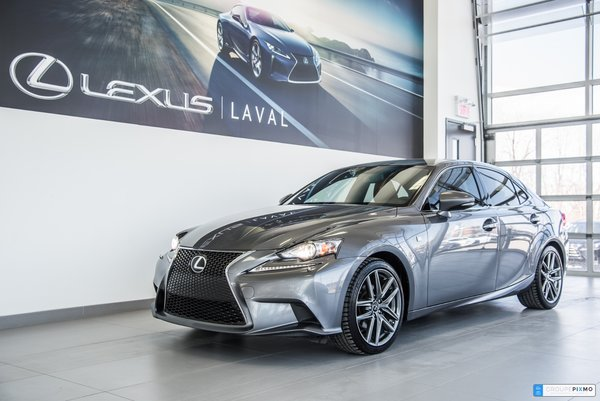 Lexus IS 250 F-SPORT 1, 1 SEUL PROPRIO 2015