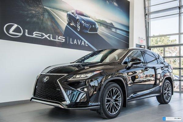 Lexus RX 350 F-Sport 2 taux a compter de1.9% 2016