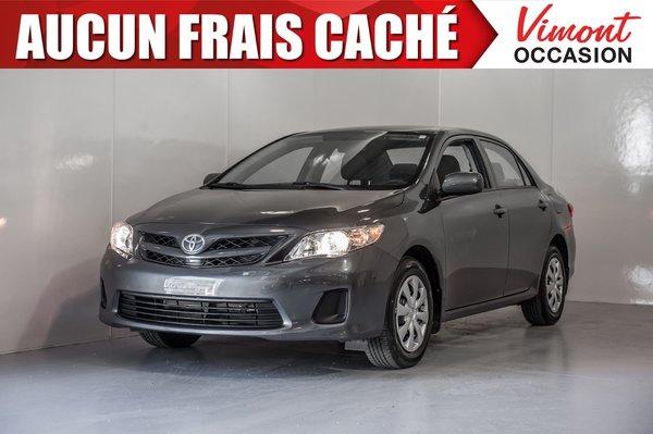 Toyota Corolla 2012+CE+A/C+PORTES ET MIRPOIRS ELECTRIQUES 2012