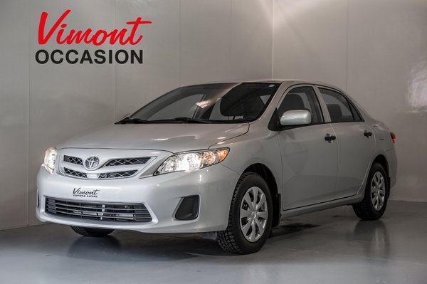 2013 Toyota Corolla CE GARANTIE COMPLETE 5ANS/100000KM