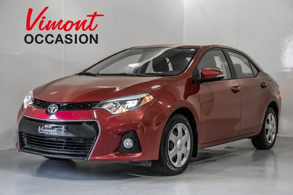 Toyota Corolla S CAMERA DE RECUL 2014