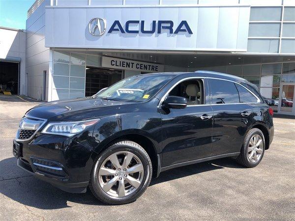 2014 Acura MDX ELITE   NEWTIRES   OFFLEASE   HITCH   NEWBRAKES