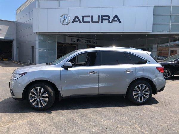 2016 Acura MDX NAVI   1OWNER   OFFLEASE   NOACCIDENTS   3.4%