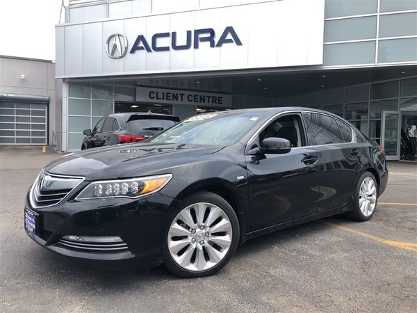 2015 Acura RLX SPORTHYBRID   NAVI   TINT   377HP   3.3%