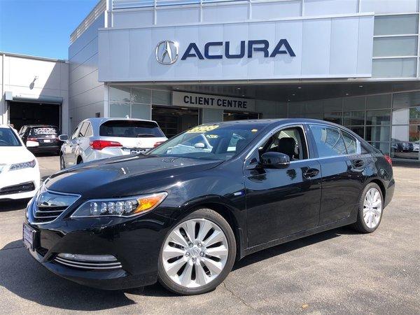 2015 Acura RLX SPORTHYBRID   1OWNER   NOACCIDENTS   NEWBRAKES