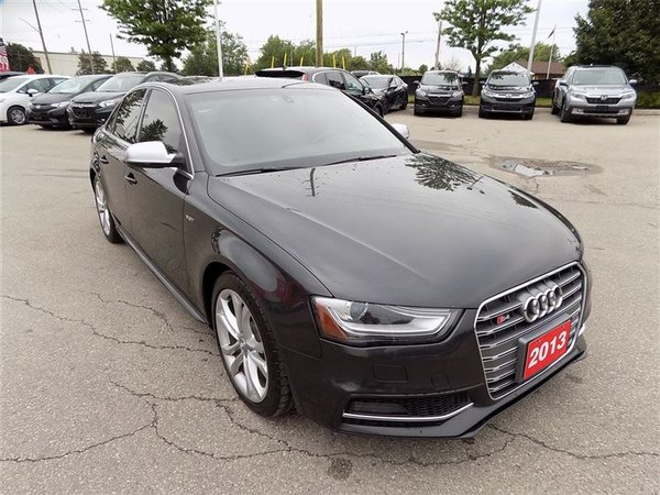 2013 Audi S4 3.0T (S tronic)... NAVIGATION.. LEATHER