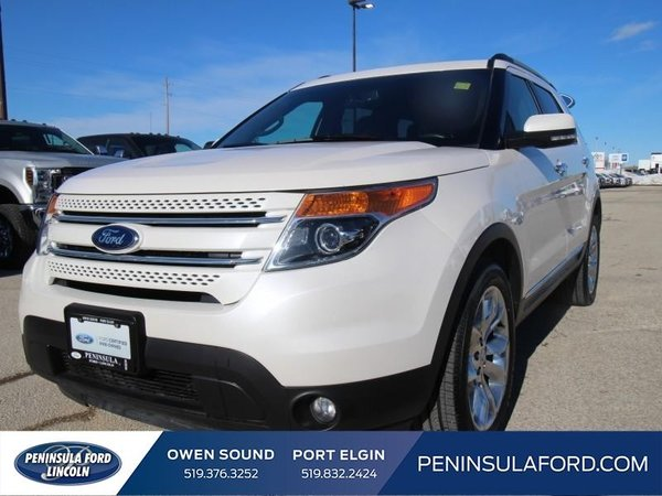 2015 Ford Explorer Limited  CPO, 2.9%, LOADED!!!