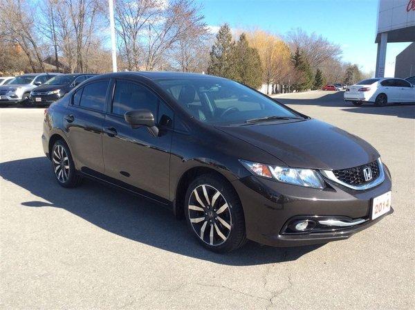 2014 Honda Civic Sedan Touring..ONE OWNER..CLEAN CARPROOF