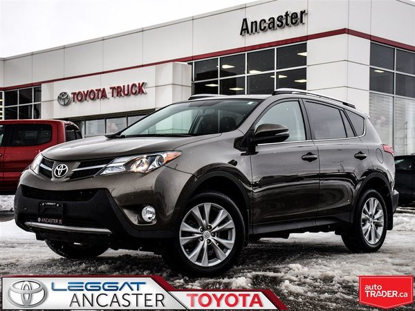 2015 Toyota RAV4 Limited ONLY 50231 KMS!!