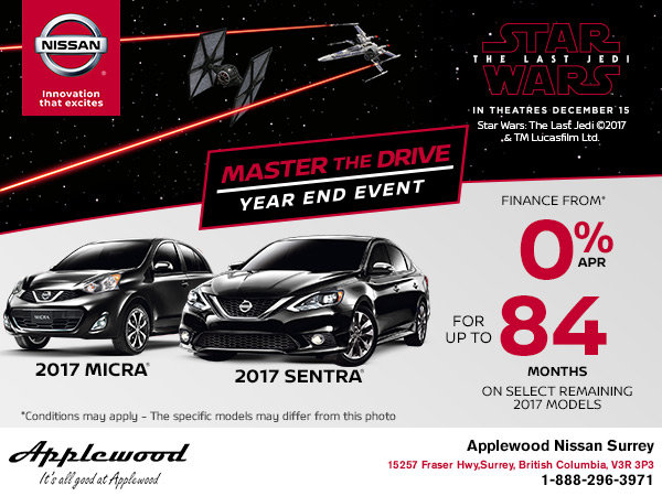 Nissan's Master the Drive Year End Event!