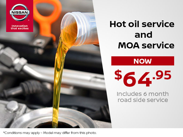 Hot Oil and MOA Service