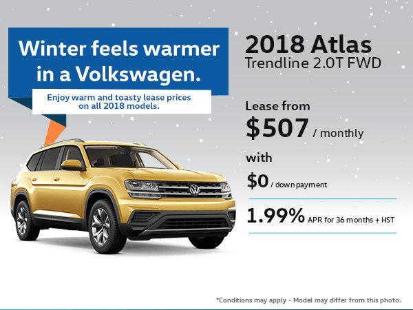 Drive Home the 2018 Volkswagen Atlas