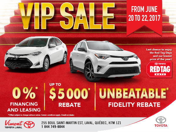 VIP Sale June