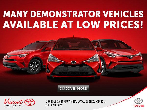 Demos vehicules campaign