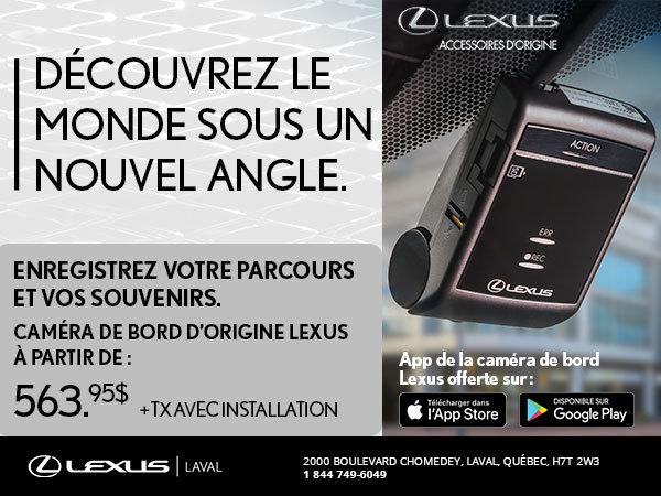 Caméra de bord d'origine Lexus