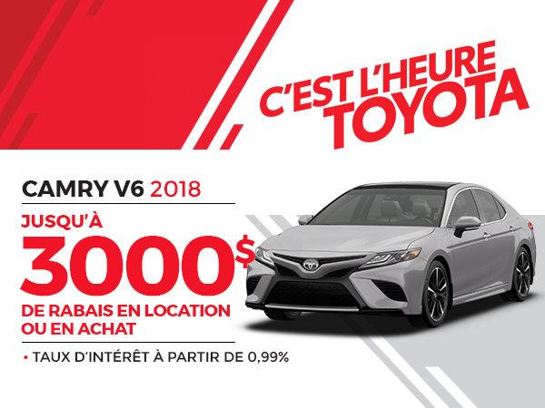 CAMRY V6 2018