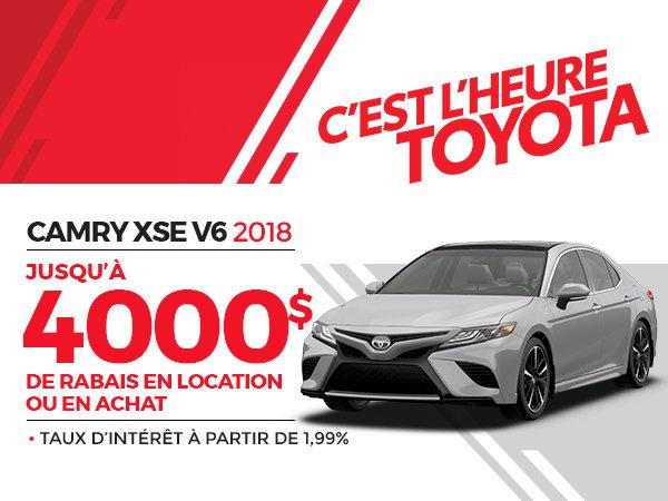 CAMRY XSE V6 2018