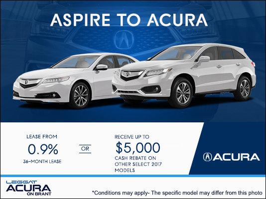 Enjoy Acura's Sales Event!