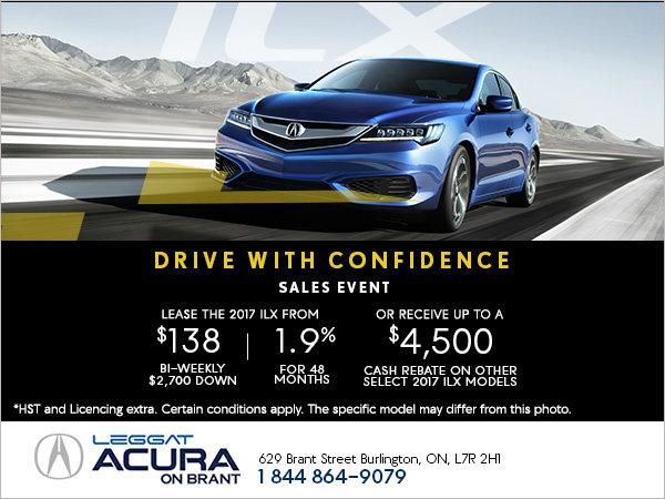 Save Big on the 2017 Acura ILX!