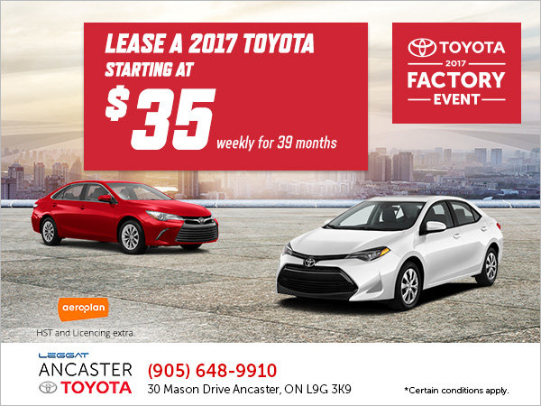 Toyota's 2017 Factory Event