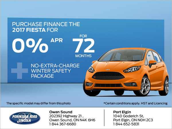 Save on the 2017 Fiesta