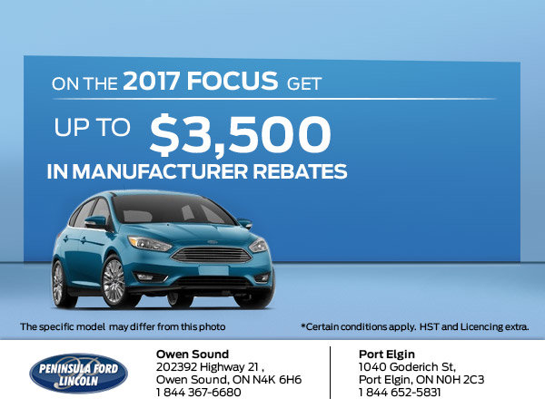 Save on the 2017 Focus