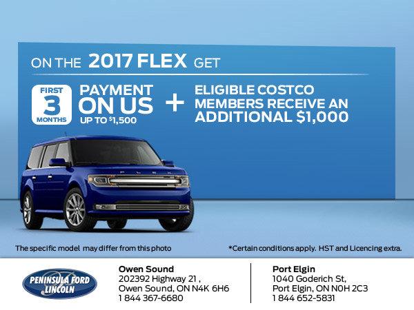 Save on the 2017 Flex