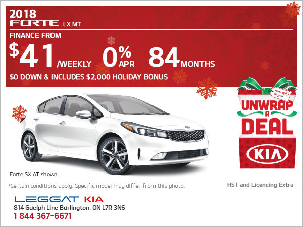 Get the Newly-Redesigned 2018 Forte