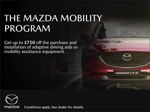 Half-Way Motors Mazda - The Mazda Mobility Program