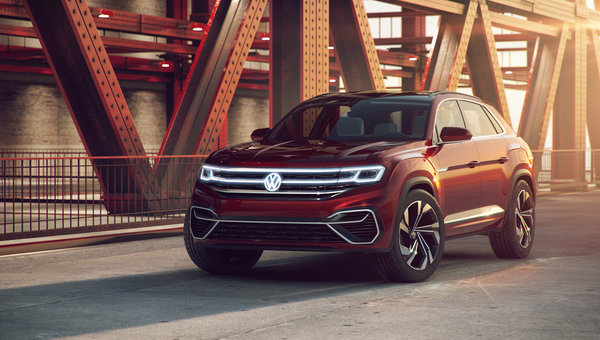 Volkswagen confirme le Atlas Cross Coupe
