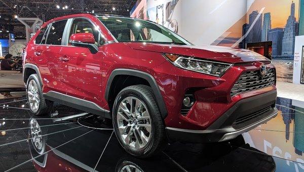 Toyota presents the new 2019 RAV4 in New York