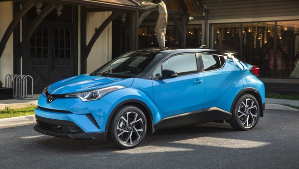 A lot of Improvements for the 2019 Toyota C-HR