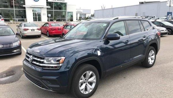 2018 Volkswagen Atlas Trendline 3.6 FSI  - Bluetooth - $267.61 B/W