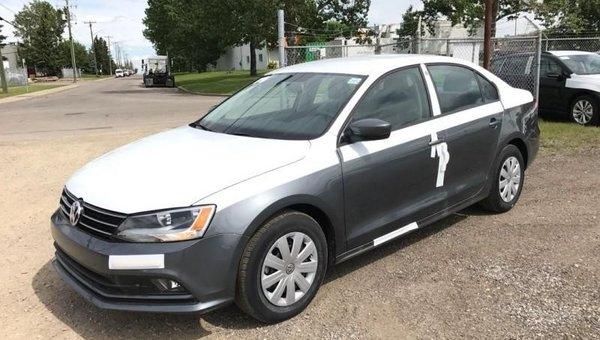2017 Volkswagen Jetta Trendline +  -  Bluetooth - $149.35 B/W