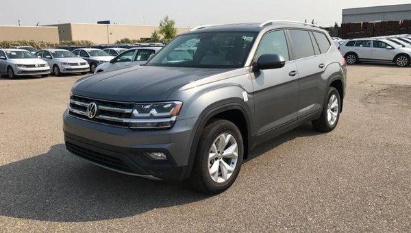 2018 Volkswagen Atlas Comfortline 3.6 FSI  - Bluetooth - $287.95 B/W