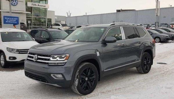 2018 Volkswagen Atlas Execline 3.6 FSI  - Navigation - $340.38 B/W
