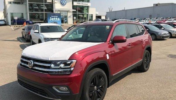 2018 Volkswagen Atlas Highline 3.6 FSI  - $320.62 B/W