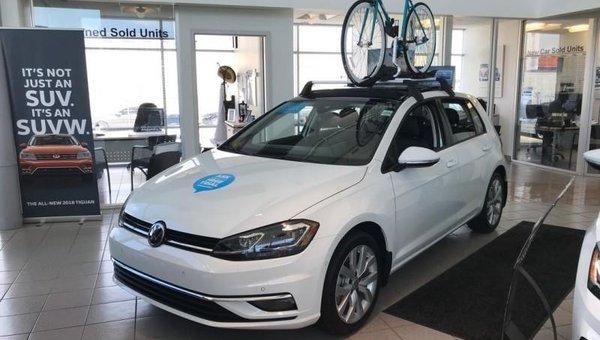 2018 Volkswagen Golf Highline  - $204.97 B/W