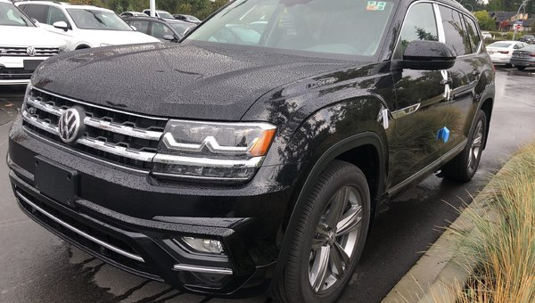 2018 Volkswagen Atlas EXECL 3.6L V6 276HP 8SP AUTO TIPTRONIC 4MO