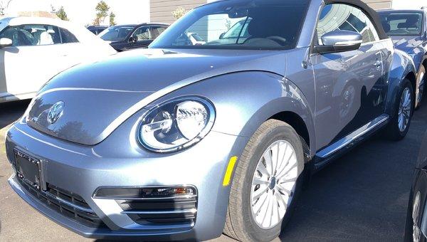 2019 Volkswagen Beetle Convertible Convertible Wolfsburg Edition