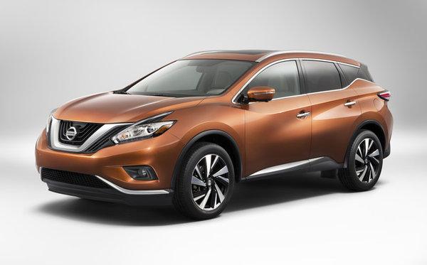 Nissan Murano 2015: le voici, il arrive