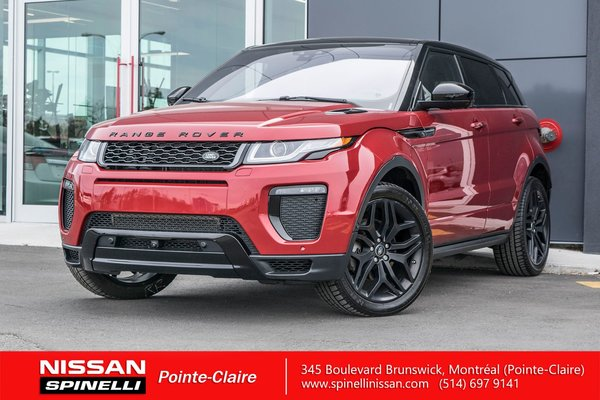 Range Rover Evoque >> Used 2016 Land Rover Range Rover Evoque Hse Dynamic For Sale In