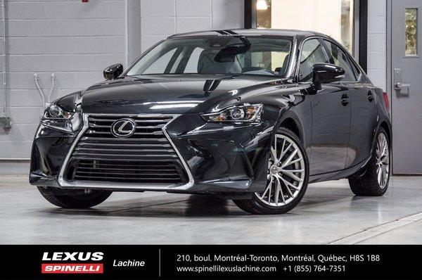 2017 Lexus IS 300 PREMIUM AWD; LSS+ TOIT CAMERA CUIR
