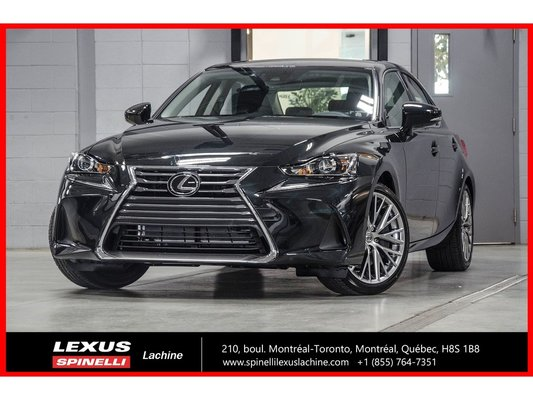 2018 Lexus IS 300 LUXE AWD; CUIR TOIT ANGLES MORTS GPS LSS+