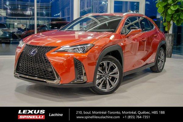 New 2019 Lexus Ux 250h Hybride F Sport I Awd Cuir Toit Camera