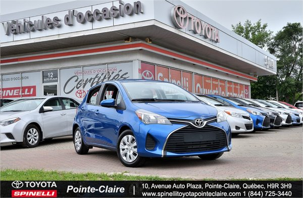 2015 Toyota Yaris *****LE 5 VITESSES $2000 DE RABAIS!!!!