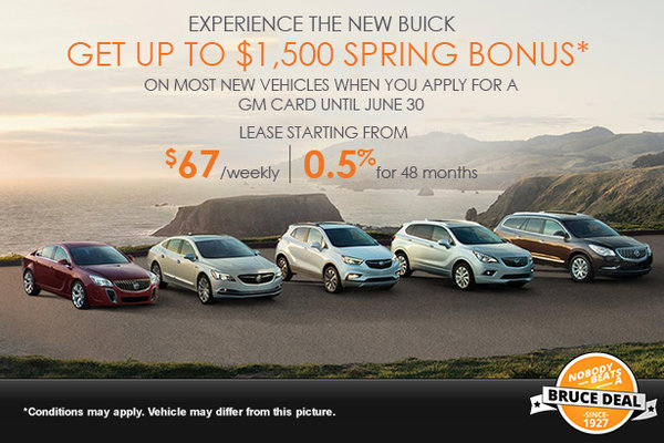 Experience the New Buick!