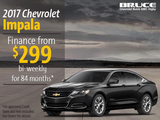 Finance the 2017 Chevrolet Impala