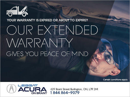 Acuras Extended Warranty Program Acura On Brant Promotion In - Acura extended warranty cost